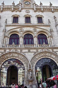 Estació de Rossio Lisboa, via Flickr.
