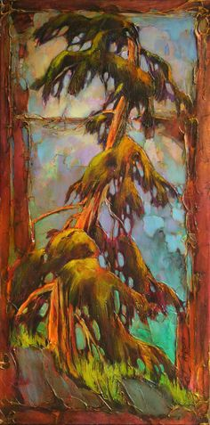 just lovely! Landscape Art, Landscape Paintings, Landscapes, Tree Images, Canadian Artists, Tree Art, Beautiful Paintings, Impressionism, Painting Inspiration