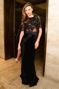 Miranda Kerr Mademoiselle C Premiere NYC Šaty Na Školní Ples e776ba04d33