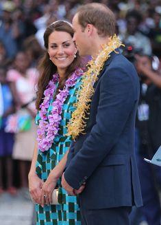 Kate Middleton, Prince William in Solomon Islands