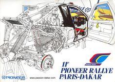 Grand Raid, Rallye Paris Dakar, Vw Gol, Car Drawings, Car Sketch, Rally Car, Go Kart, Peugeot 205, Hot Cars