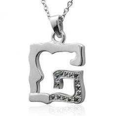 Men& Sterling Silver Alphabet Initial Letter G Black Diamond Pendant Necklace ( Diamond Pendant Necklace, Diamond Jewelry, Alphabet Necklace, Traditional Engagement Rings, Letter Pendants, Gems Jewelry, Sterling Silver Chains, Diamond Engagement Rings, Initials