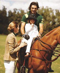 The Equestrian Family: Delfina Blaquier and Nacho Figueras