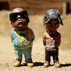 Tupac and Biggie Smalls