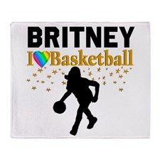 BASKETBALL STAR Throw Blanket Every Basketball Player will love our awesome Basketball player fleece blankets.  http://www.cafepress.com/sportsstar/13293761 #Girlsbasketball #Lovebasketball #Basketballgift #Basketballchick #Hoopdreams #Personalizedbasketball #Basketballblanket