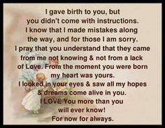 My first born...T.F.