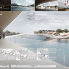 Three outstanding bridge designs have recently been selected as winners in the Amsterdam Iconic Pedestrian Bridge competition. Hosted by