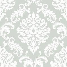 NuWallpaper Ariel Gray Peel & Stick Wallpaper | Michaels®