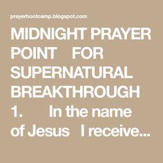 20 Best Midnight Prayer images in 2018   Midnight prayer, Power of