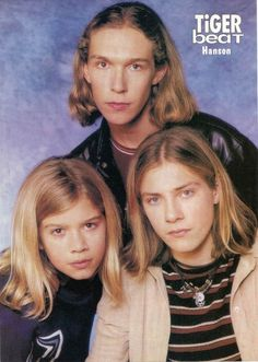 HANSON!! You know it. Is this the most intense photo youve ever seen in your life?   31 Deeply Unsolvable Mysteries About 90sHanson