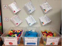 FREEBIE: Do you use your manipulatives everyday? Use these cards so students can run games by themselves.