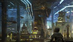 Concept ships by Khang Le #3
