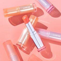 Makeup Box, Cute Makeup, Makeup Tools, Makeup Lipstick, Makeup Cosmetics, Laneige, Cosmetic Packaging, Makeup Designs, Aesthetic Makeup