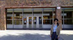 Esther Álvarez García, del Grupo de Investigación SinCom (Sintaxis Comunicativa) de la Universidad de León (ULE), Foto cedida por la investigadora.
