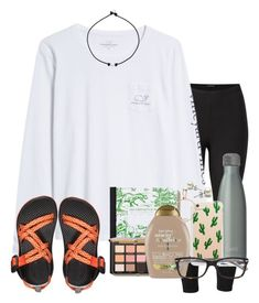 A fashion look from March 2018 by auburnlady featuring Vineyard Vines, Venus, Kendra Scott, Ray-Ban, Organix and S'well Outfits Otoño, Lazy Outfits, Outfits For Teens, Plus Size Outfits, Summer Outfits, Summer Clothes, Casual Outfits, Fashion Outfits, Birkenstock Outfit
