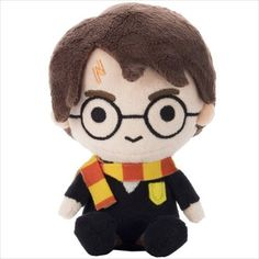 """Harry Potter - 5"""" Beanie PlushImported from TOMY Takara Arts in Japan, this exquisitely designed beanie plush of Harry Potter is super kawaii (cute)!!!Details:5"""" beanie plush with hang tagMade of Polyester / Polyethylene pelletsImportedDelivery:All orders will begin shipping the week of November 14th....not any sooner. After November 19th, orders will ship within 2-3 business days of being placed.PLEASE NOTE:ONLY domestic US shipments will be tak..."""