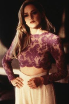 Sharon Stone as Ginger McKenna in casino. I'm obsessed with the total look