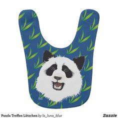Panda Treffen Lätzchen
