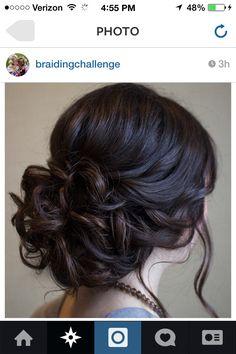Beautiful wedding brade.