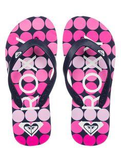 bf33a104c8be Girl s 7-14 Tahiti Flip-Flops