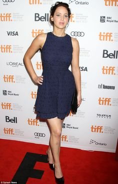 The girl on fire: Jennifer Lawrence stars as fearless heroine Katniss Everdeen