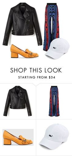 """Untitled #27"" by dxrcx on Polyvore featuring Balmain, Gucci, balmain, gucci and TOMFORD"