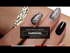 OPI GelColor Nail Art Carnival Tutorial
