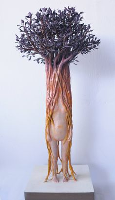 Human nature sculptures by Yui Ishibari, sculptor, Japan