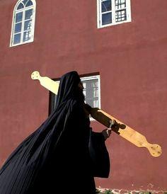 New Year in Vatopedi monastery, Mount Athos, Greece Christian World, Christian Art, The Holy Mountain, Byzantine Icons, Orthodox Christianity, Greece Travel, Belle Photo, Cool Photos, Religion
