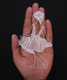 Respirer la vie dans la dentelle de papier: travail étonnant Parth Kothekar