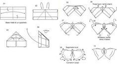 Hobby: Origami – come realizzare una farfalla