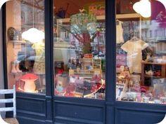 store window by m.i.l.c.h.schaum, via Flickr, Leonhardtstr. in Charlottenburg, Berlin