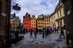 Gamla Stan en Estocolmo, una de las joyas de la ciudad. Plaza Stortorget