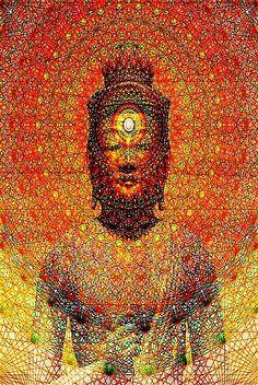 Buddha, sacred Geometry