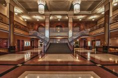 The remodeled Grand Gallery inside Paramount Theatre