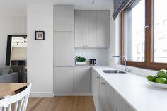 Browar Lubicz - Kuchnia, styl skandynawski - zdjęcie od Miliform grey modern kitchen | small kitchen | grey | inspiration