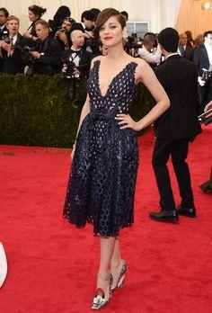 Marion Cotillard in Dior - Met Gala 2014