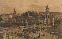 hamburg 1900 | Hamburg Hauptbahnhof um 1900