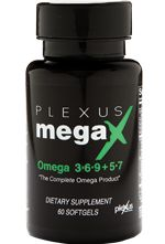 Did you know that your body doesn't create the essential fatty acids that it needs? Plexus MegaX combines the benefits of omega 3, 6, 9, 5 and 7 all in one sustainable, ALA and SDA-rich, heart and brain health softgel. It is truly the complete omega product!