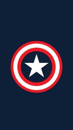 Image de wallpaper, captain america, and Marvel