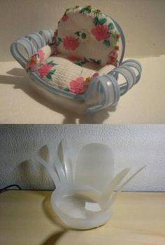 DIY Plastic Bottle Comfort Chair by jillith