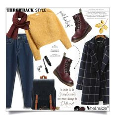 """Throwback Style"" by aurora-australis ❤ liked on Polyvore featuring H&M, Lacoste, Bobbi Brown Cosmetics, Chanel, vintage, Sheinside, polyvoreeditorial and throwbackstyle"