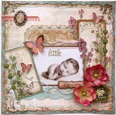 Little Treasure **Bo Bunny ~ Gabrielle!** - Scrapbook.com