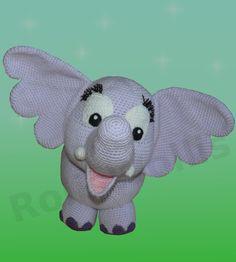 Elfi ist ein Elefant im XXL Format. So wie es sich für einen Elefanten gehört :) Elfi ist süss, knuffig und immer gut gelaunt. Sie würde sich riesig freuen von Euch nachgehäkelt zu werden um...