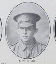 LEE,   Ernest   W.   C.   No.   6273,   9th   Battalion.     Born   and   educated   at   Maryborough.   He   is   the   son   of   Ernest   Lee   and   Minnie   Lee,   of  Ann   Street,   Maryborough.