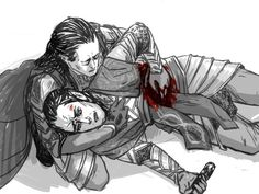 Elrond and wounded Gil-Galad