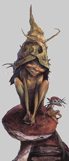 {Trolls} by {Brian Froud} - Spirit Of The Forest