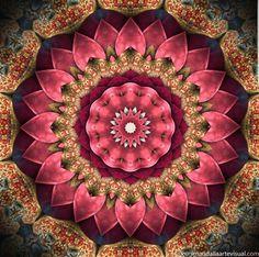 Mandala da Prosperidade ~~ Desenvolvida de acordo com a sabedoria do Feng Shui ela atrai a prosperidade para todas as áreas da sua vida.