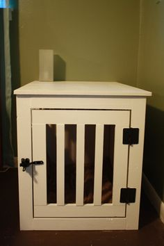 Knocked Off: Kennel End Table