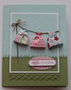 cute clothesline idea